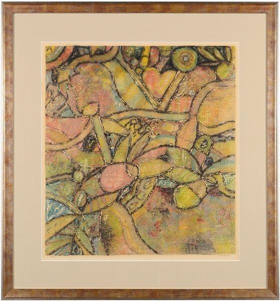 Ray Yoshida (American, 1930-2009) Palm. - 2