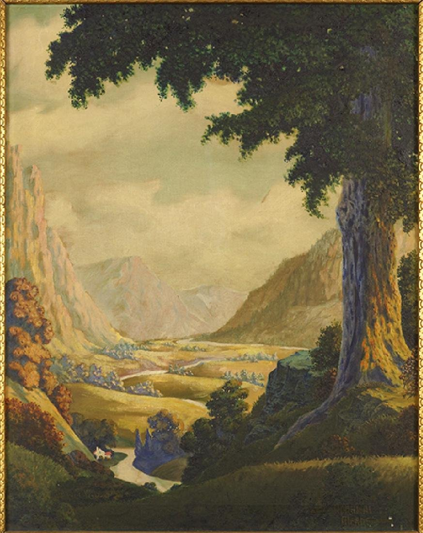 Admiral Meade (American, 20th Century) Peaceful Valley.