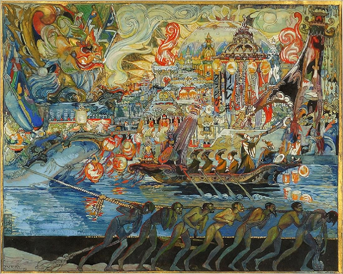 Ferenc Imrey (Hungarian-American, 1885-1963) Exotic