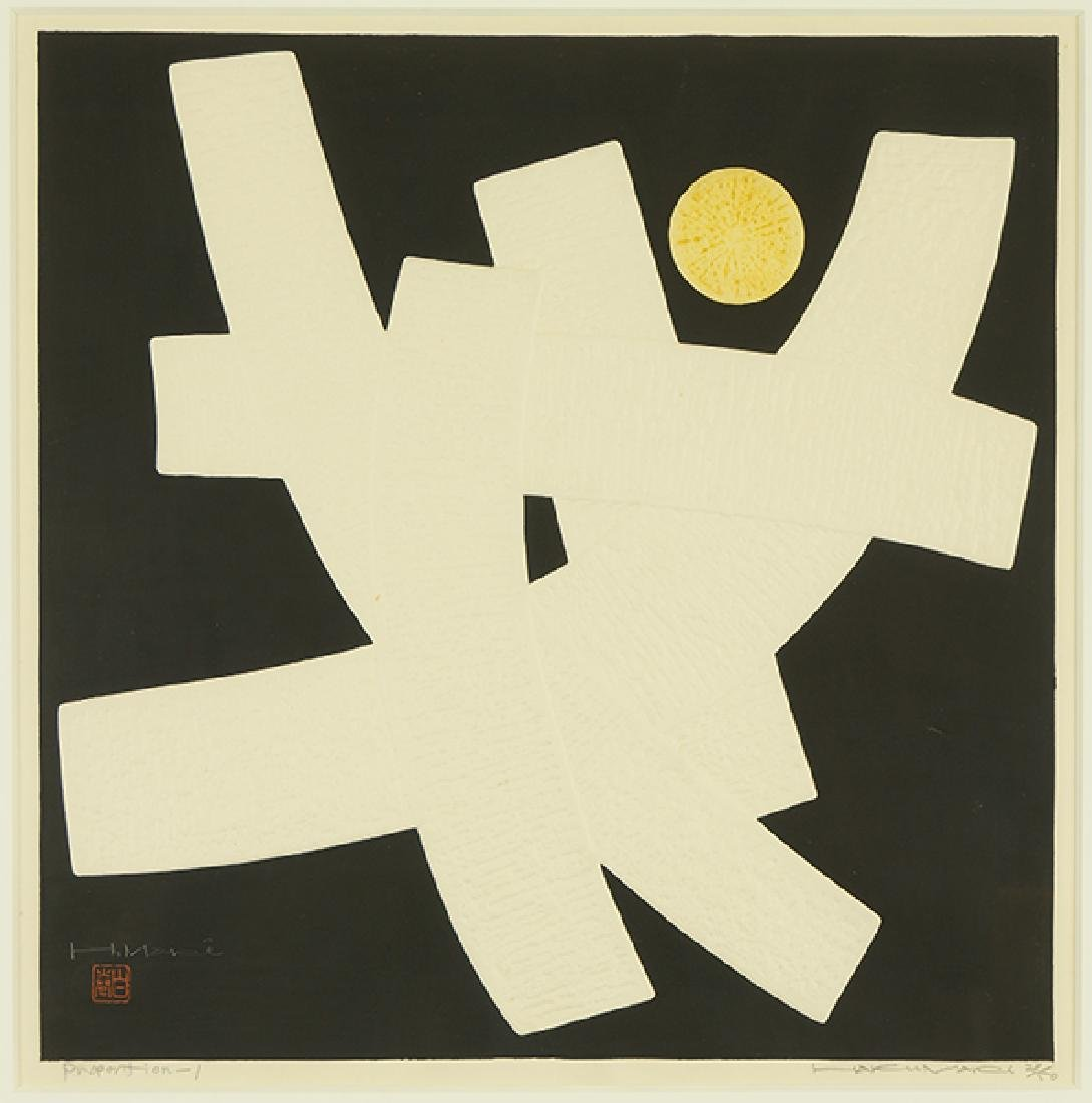Haku Maki (Japanese, 1924-2000) Proportion-1.