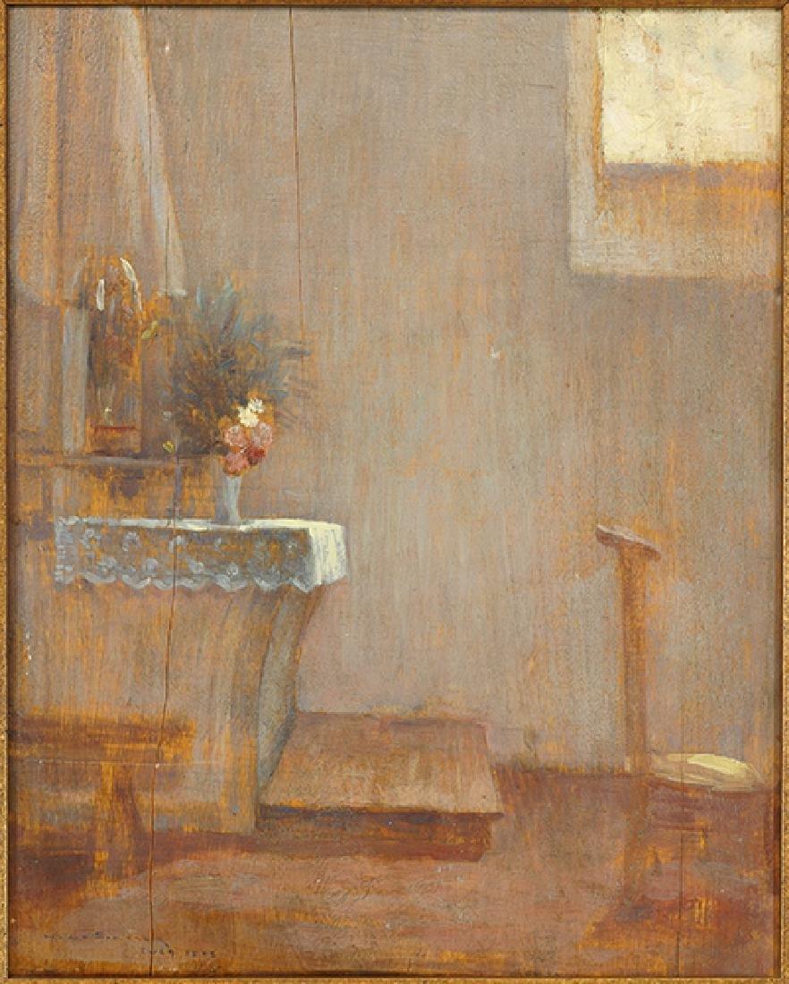 Henri Le Sidaner (French, 1862-1939) Chapelle, 1892.
