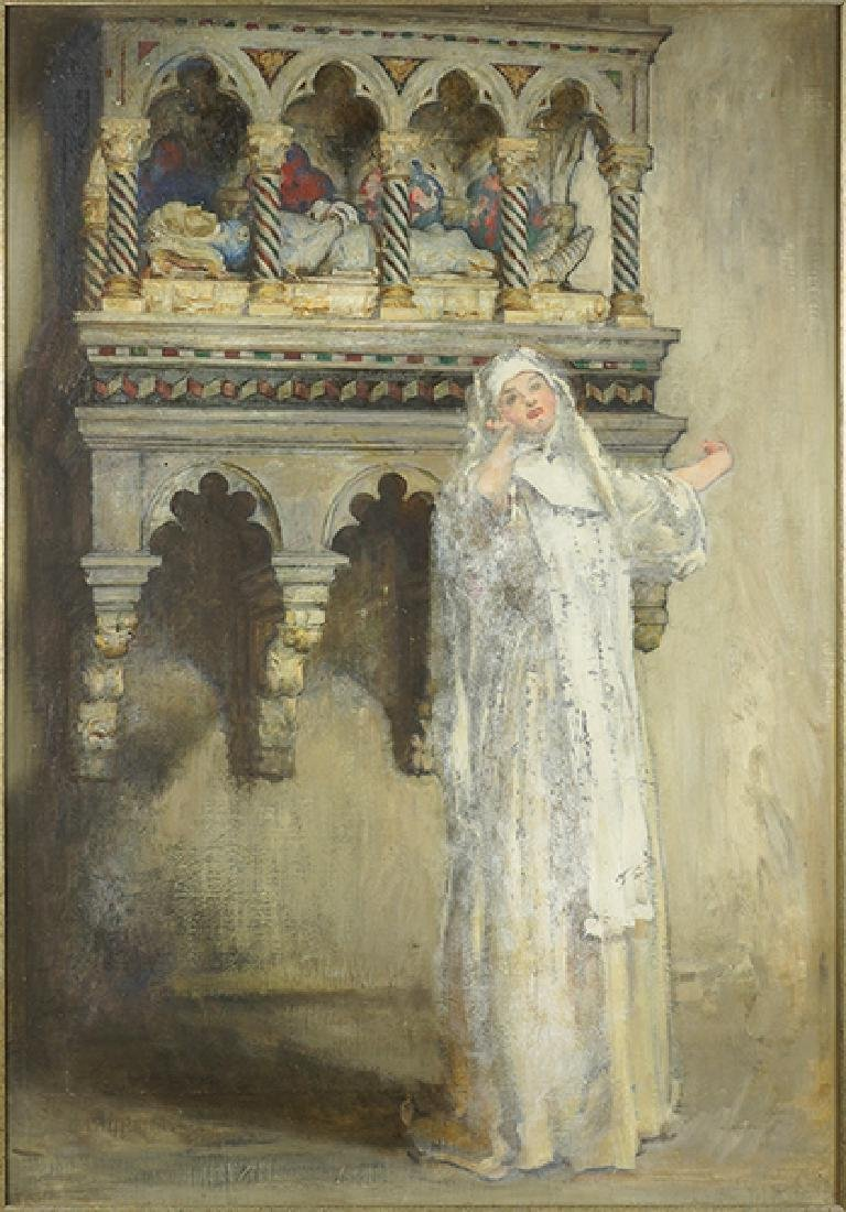 Artist Unknown (American, 19th/20th Century) Mourning