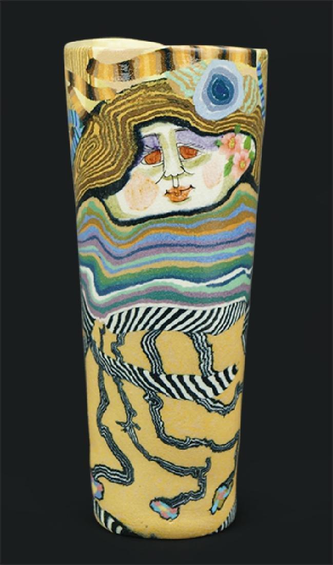 Jane Gosllin Peiser (American, B. 1933) A Vase.