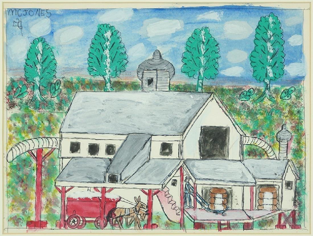 M.C. '5 Cent' Jones (American, 1917-2003) The Mill.