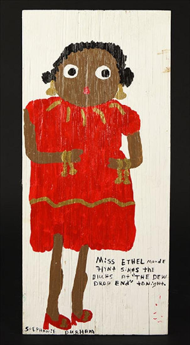 Stephanie Durham (American, 20th Century) Miss Ethel.