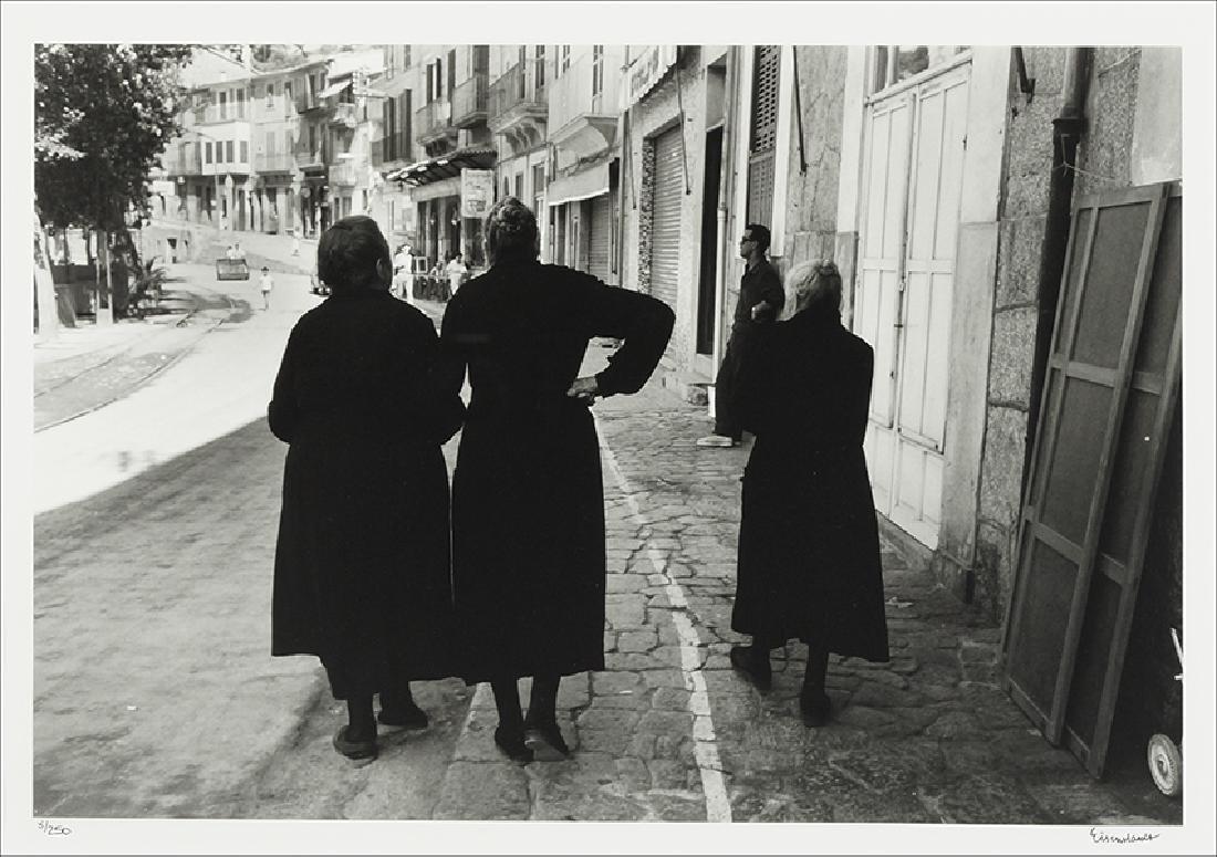 Alfred Eisenstaedt (American/German, 1898-1995) Three