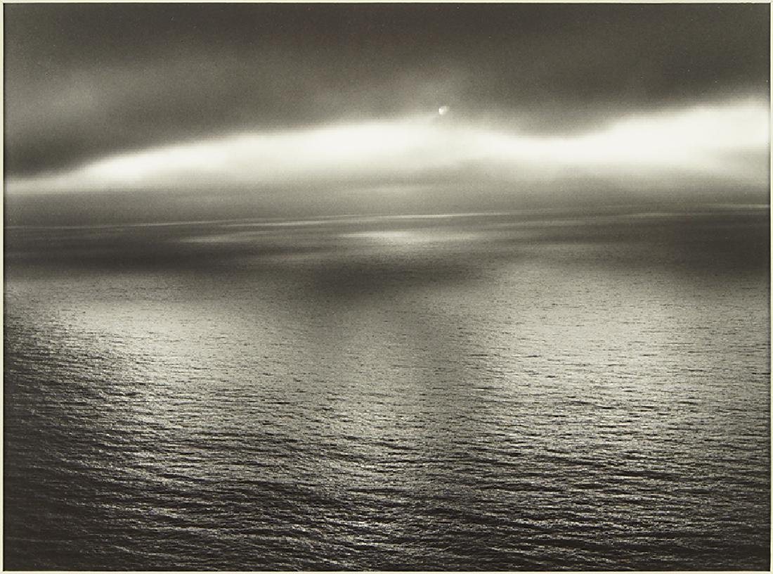 Minor White (American, 1908-1976) Sun Over The Pacific,