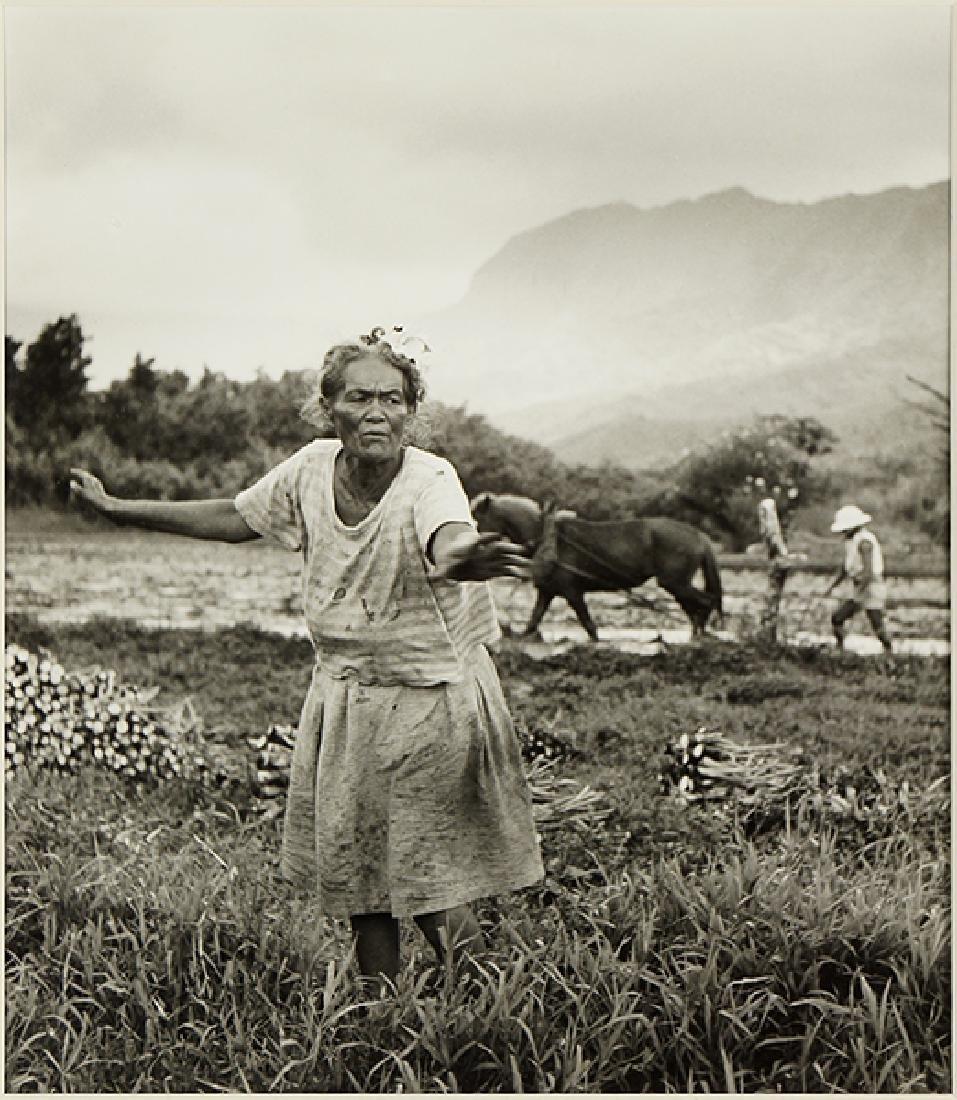 Fritz Henle (German, 1909-1993) Hawaiian Peasant Woman.