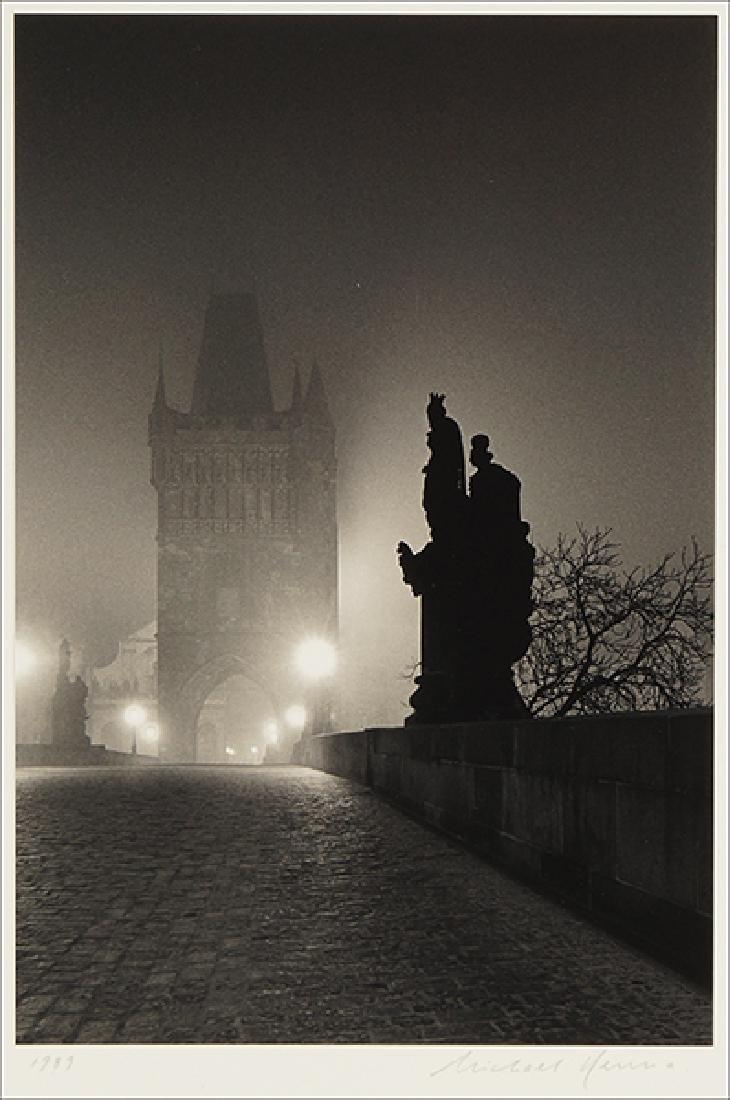 Michael Kenna (American, B. 1953) Charles Bridge, Study