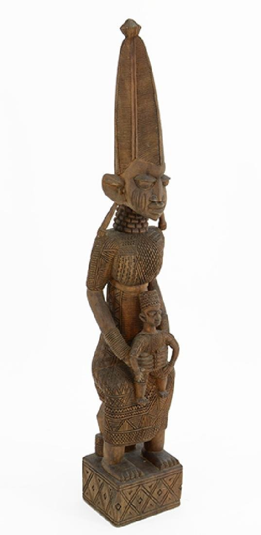 An African Carved Wood Statue.