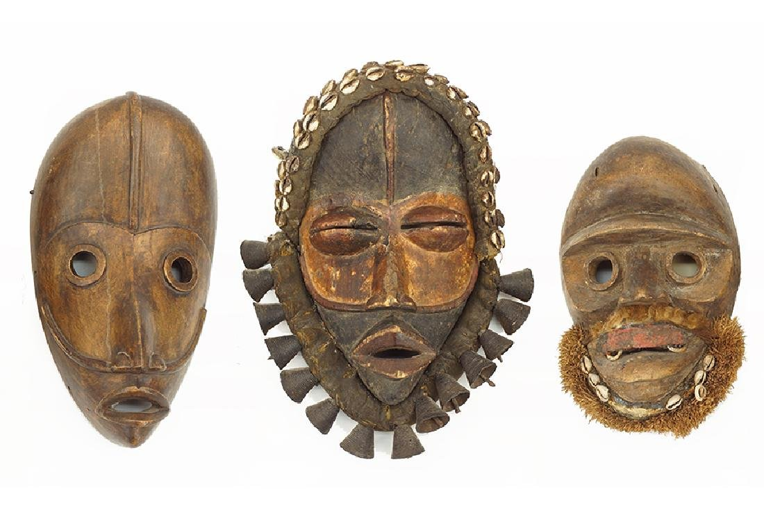 Three Dan Masks.