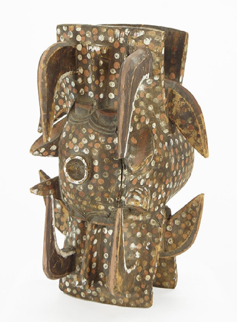 A Senufo Wanyugo Mask.