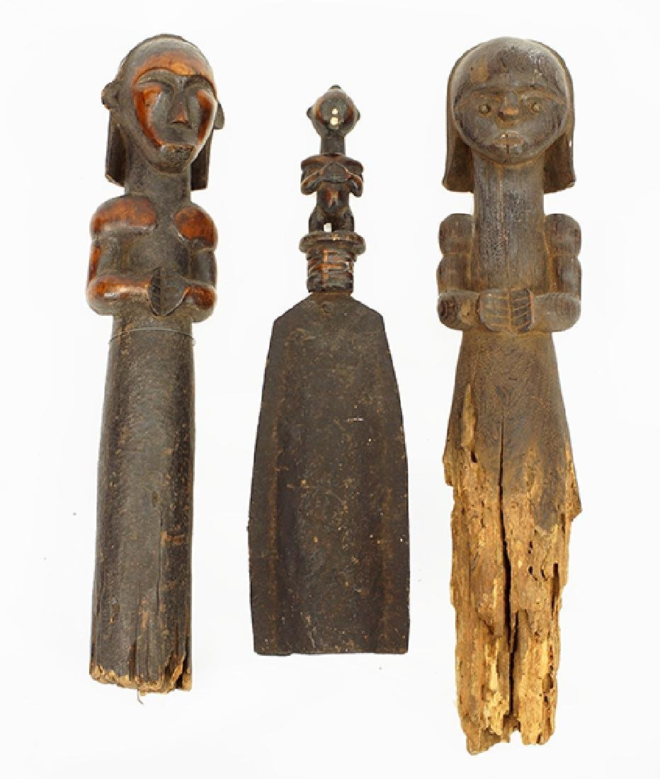 Two Fang Reliquary Figures.