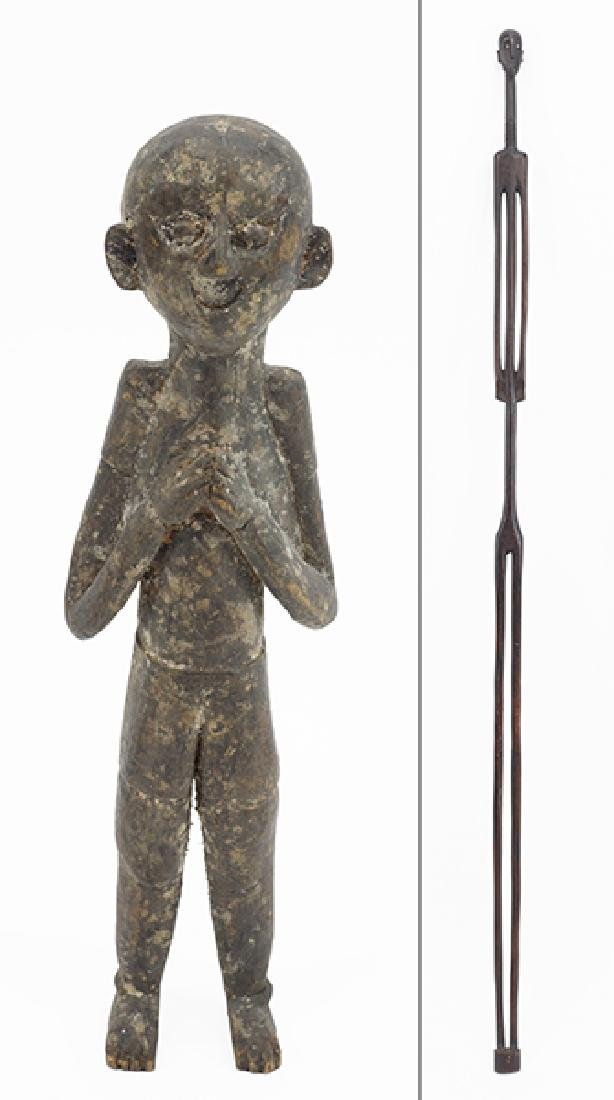 A Nyamwezi Wood Stick Figure.