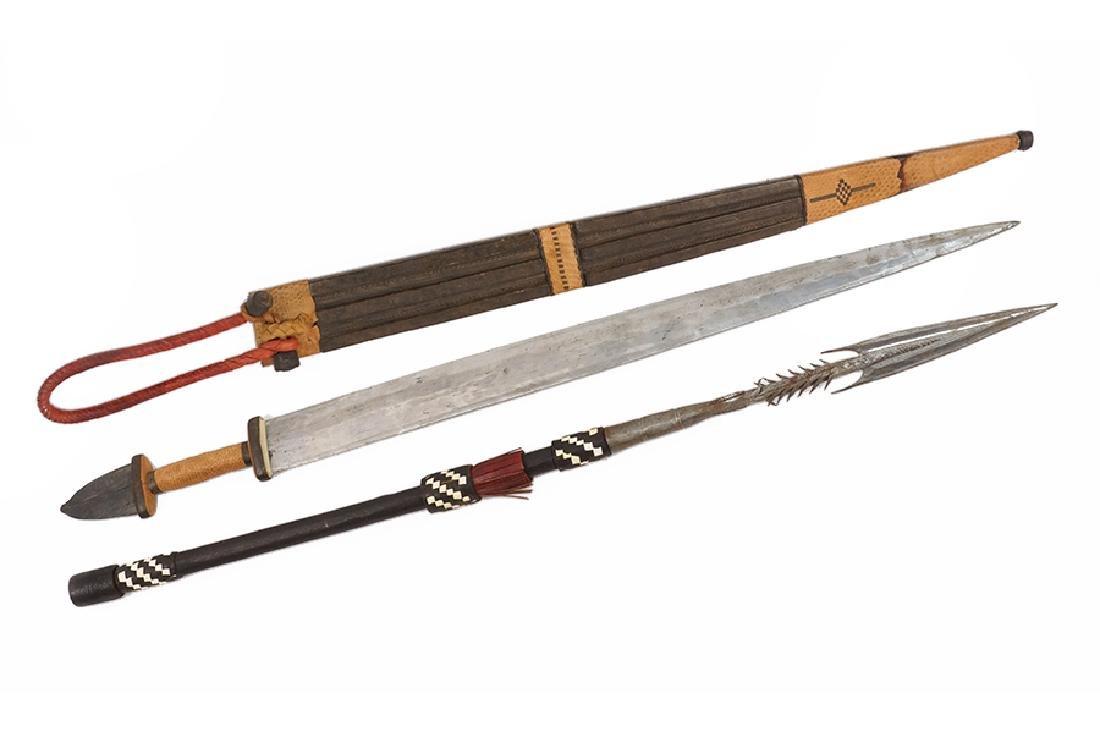 An African Tebu Dagger.