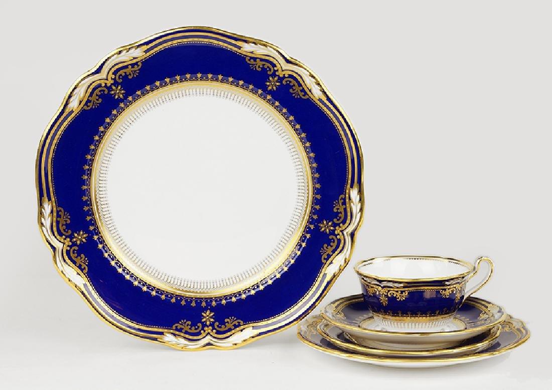 A Spode Porcelain Dinner Service.