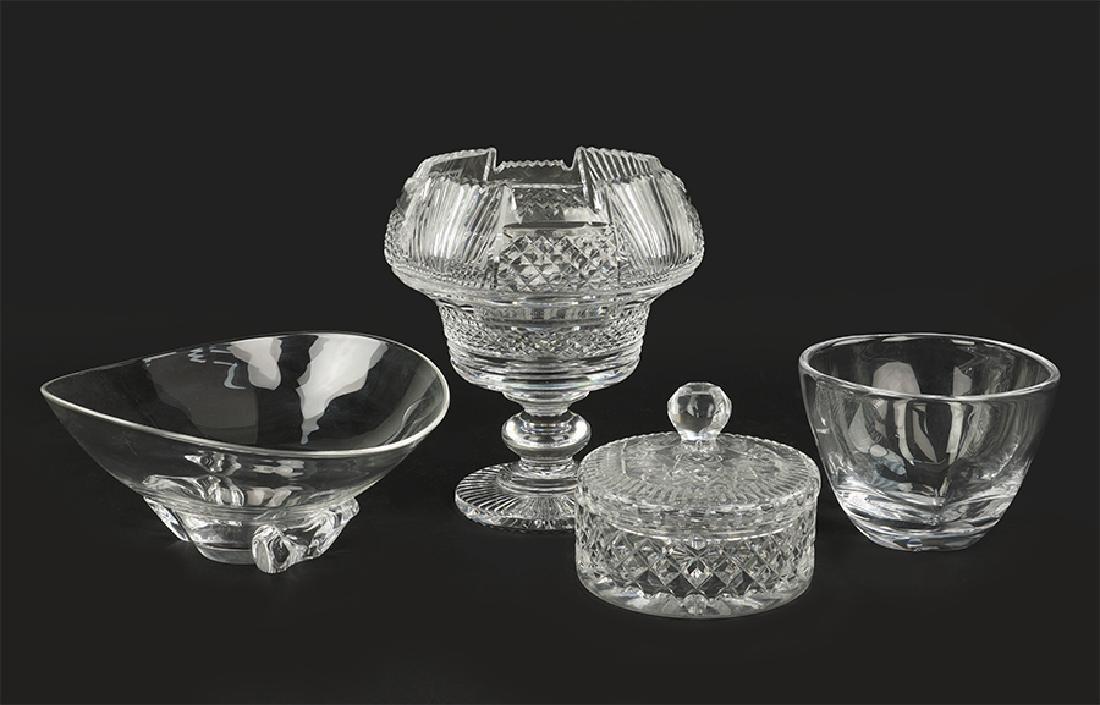 A Steuben Glass Bowl.