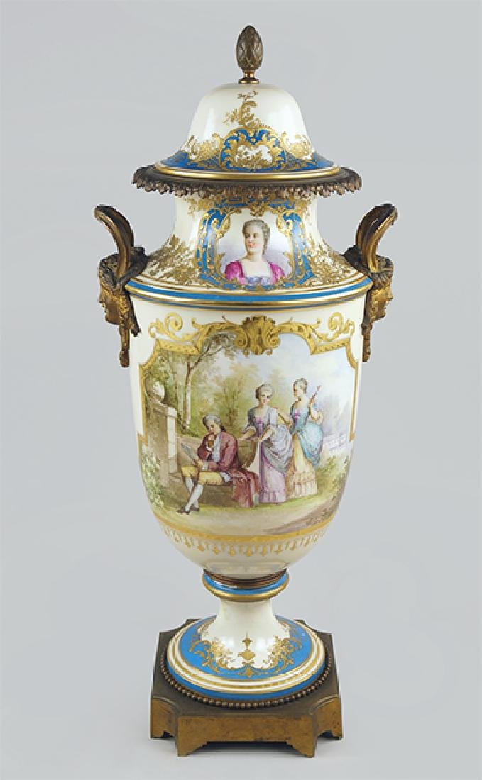 A French Sevres Urn.
