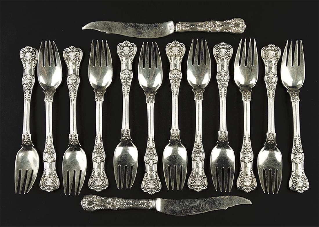 A Tiffany & Company Sterling Silver Partial Flatware