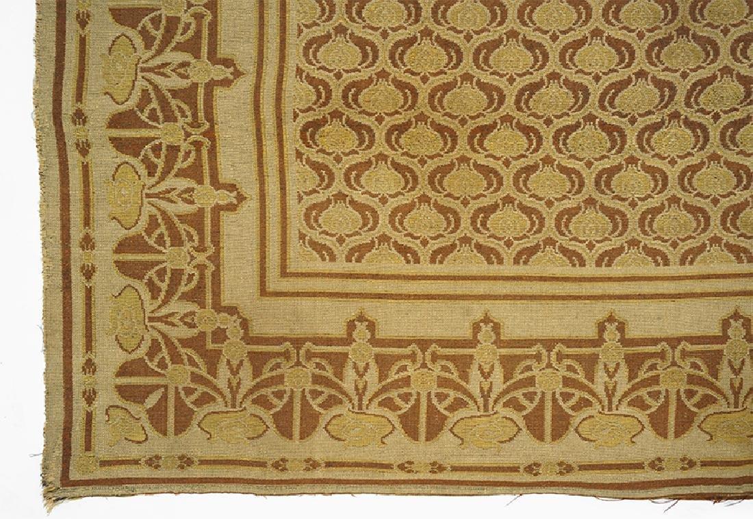 A Belgian Art Nouveau Tapestry.