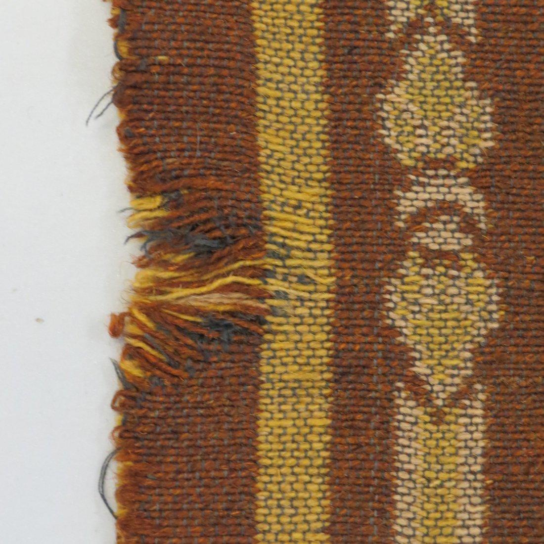 A Belgian Art Nouveau Tapestry. - 3