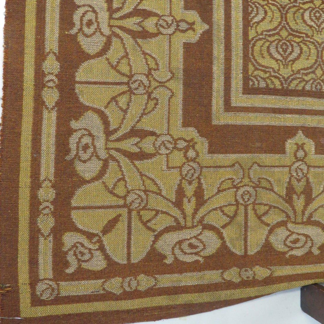 A Belgian Art Nouveau Tapestry. - 4