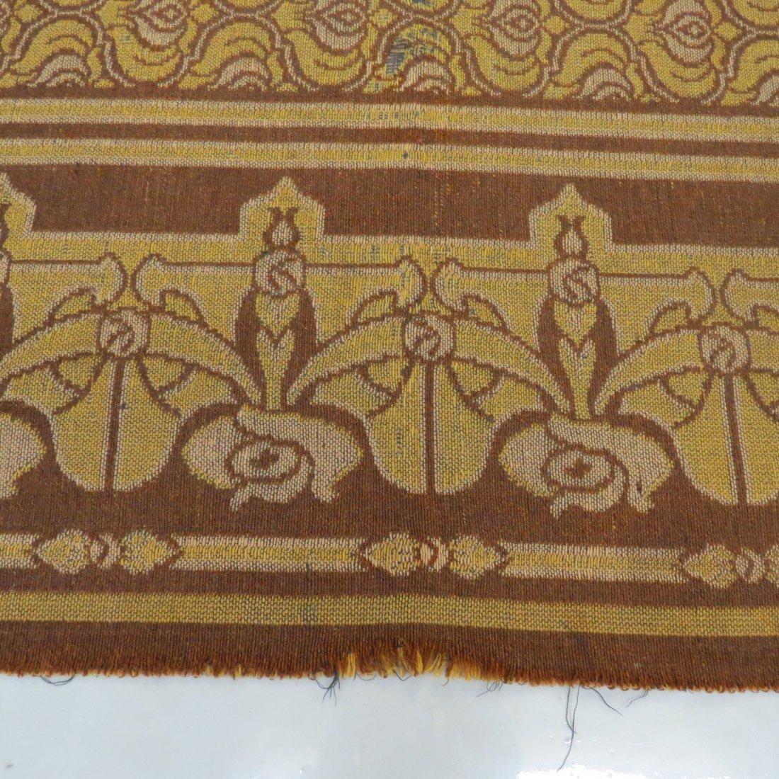 A Belgian Art Nouveau Tapestry. - 7