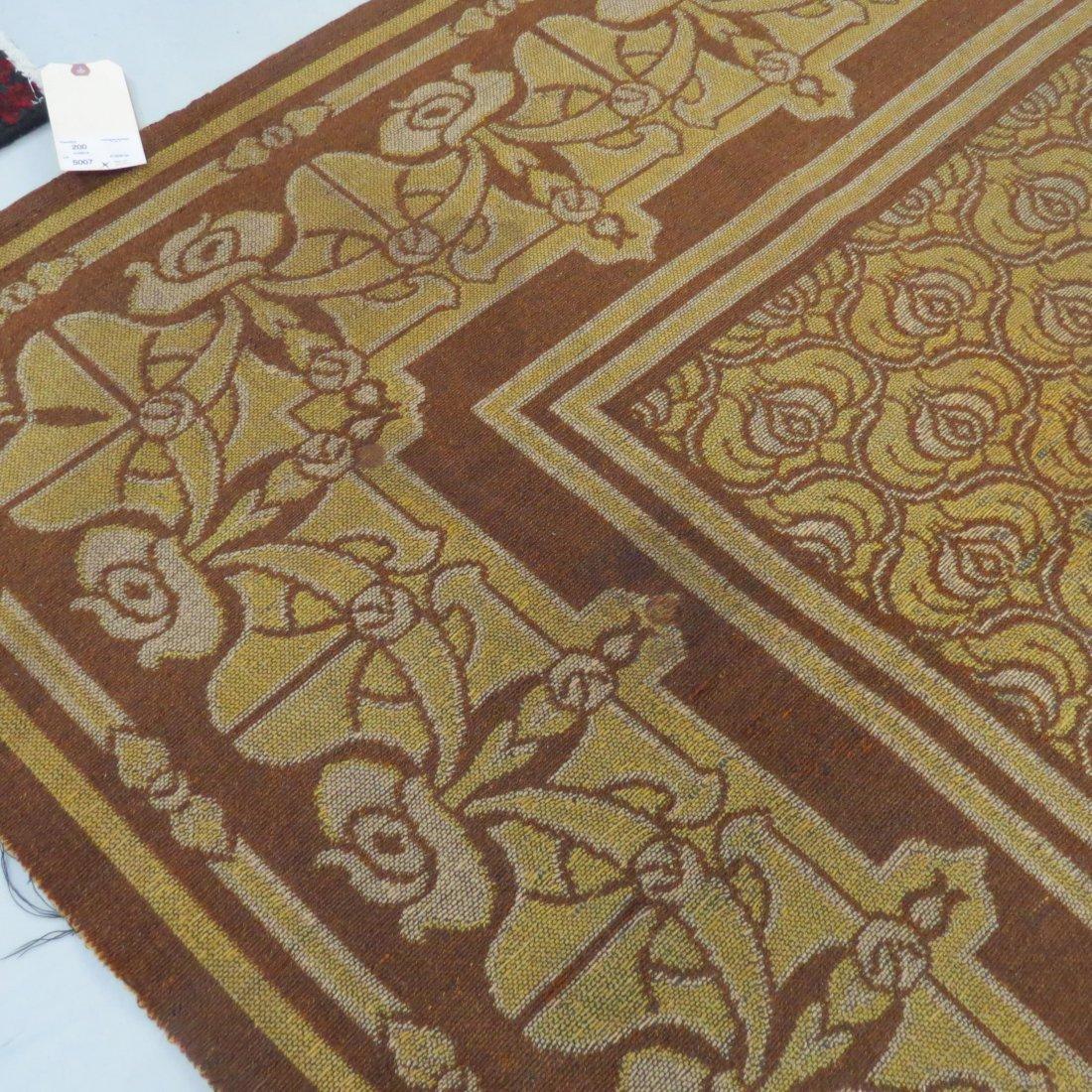 A Belgian Art Nouveau Tapestry. - 8