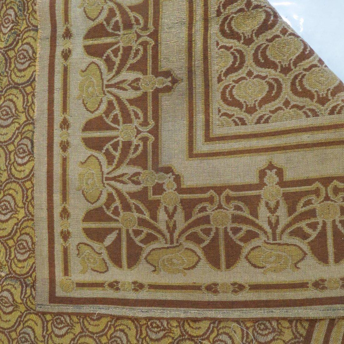 A Belgian Art Nouveau Tapestry. - 9