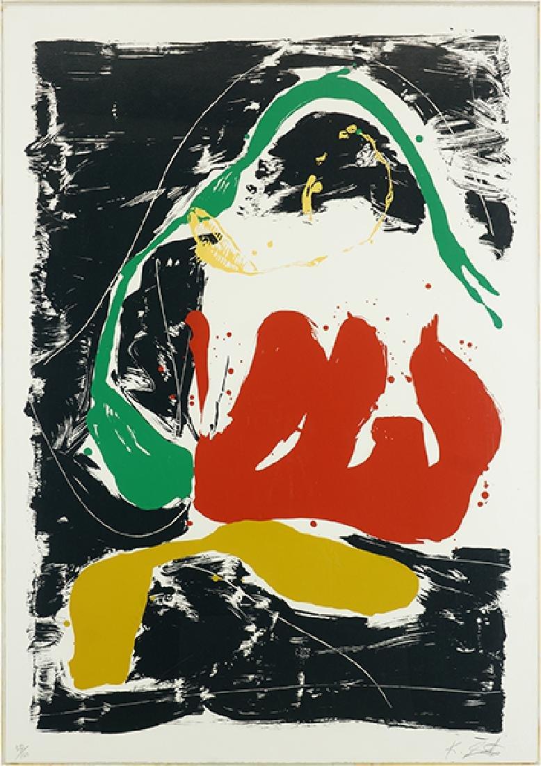 Kikuo Saito (Japanese, B. 1939) Summer Snail.