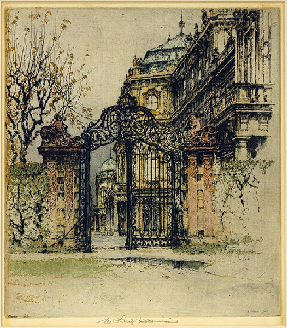 Luigi Kasimir (Austrian, 1881-1962) The Gateway.
