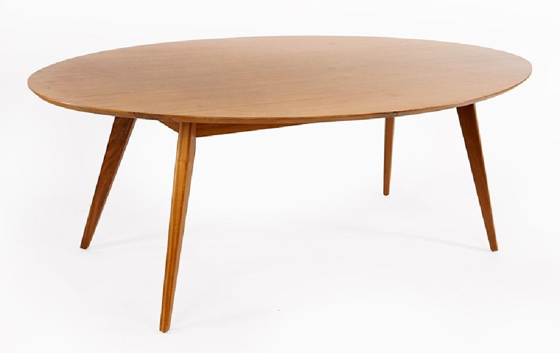 A Knoll Elliptical Table.