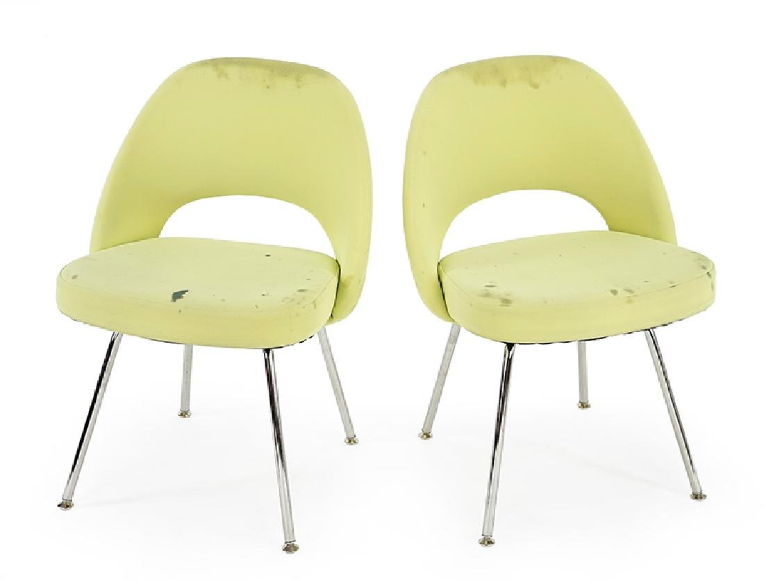 A Set of Ten Eero Saarinen for Knoll Executive Chairs.