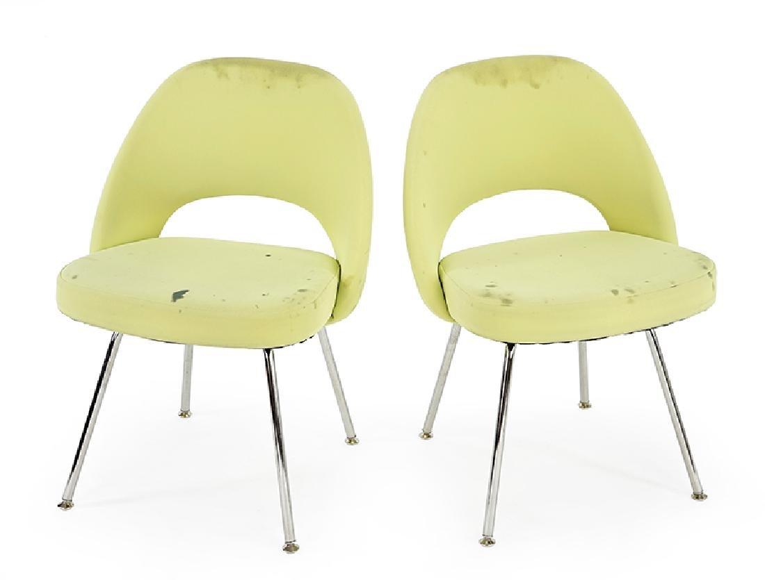 A Set of Ten Eero Saarinen for Knoll Executive Chairs.
