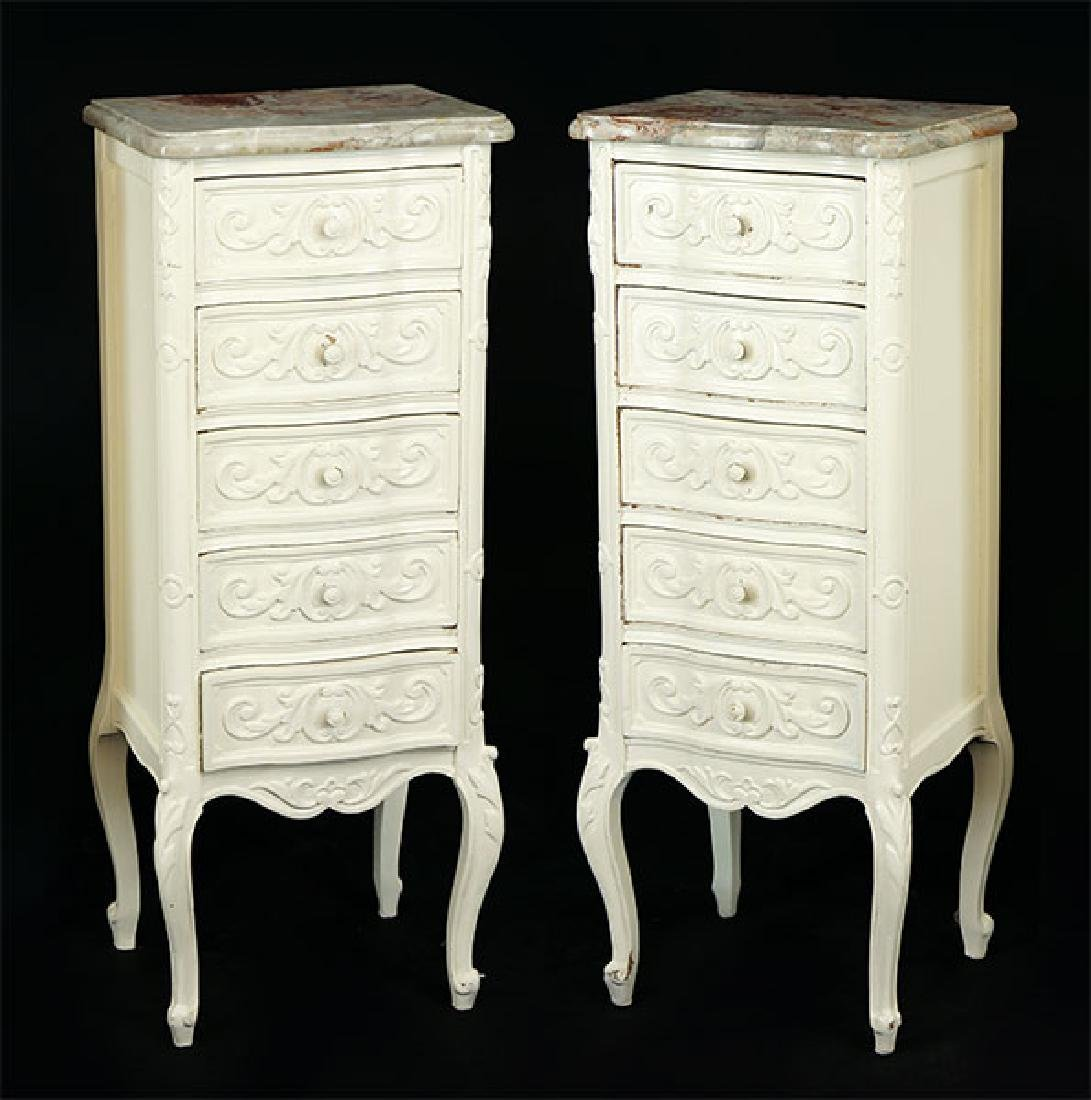 A Pair of Lingerie Chests.