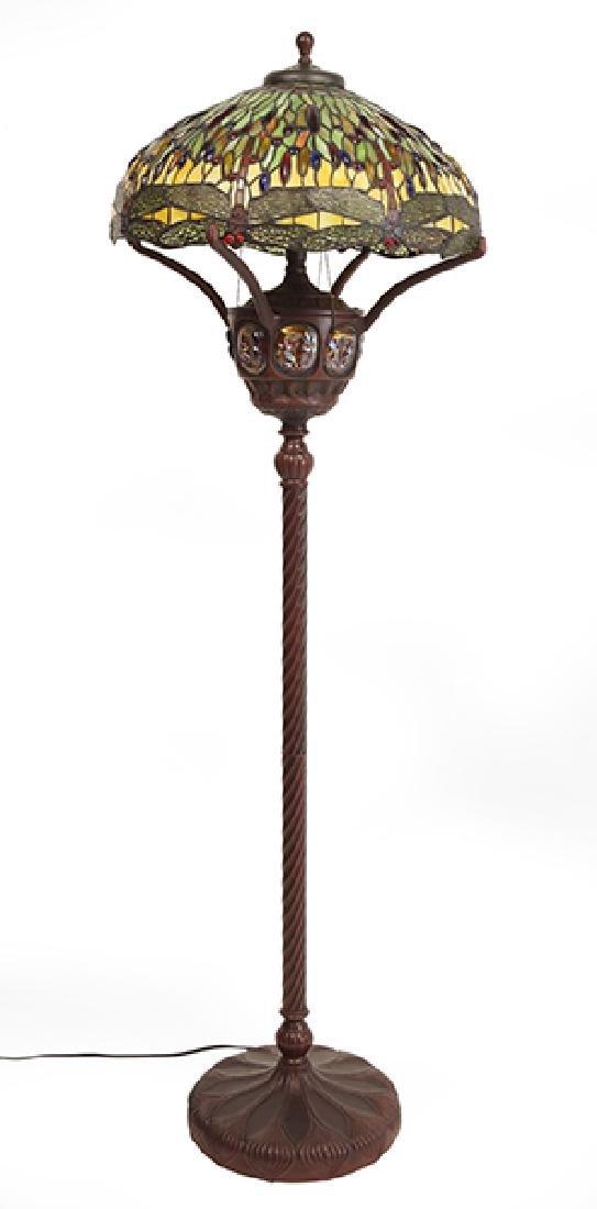 A Floor Lamp.