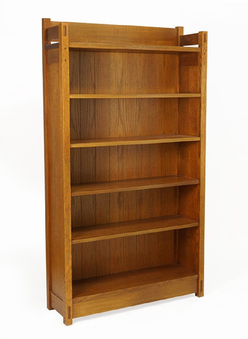 An Arts & Crafts Style Bookcase.