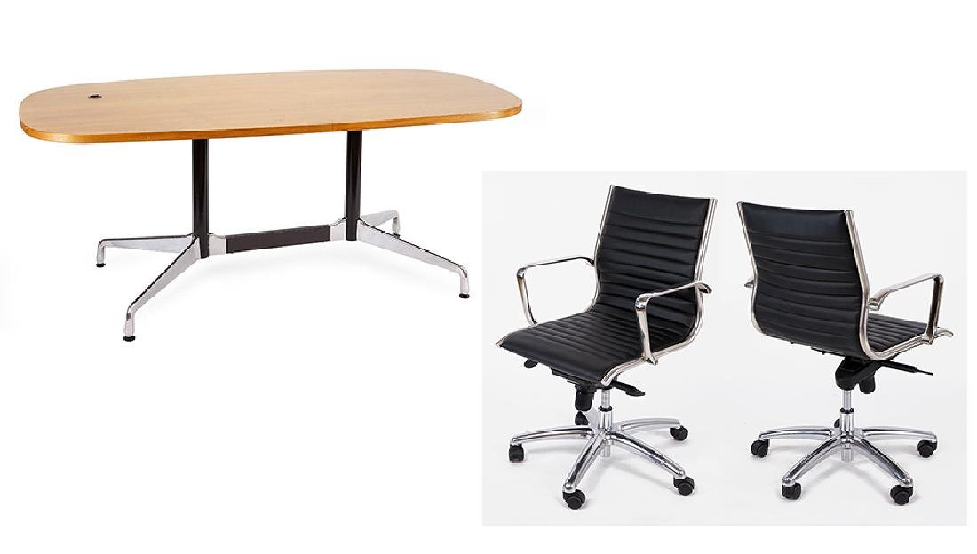 An Eames for Herman Miller Conference Table.
