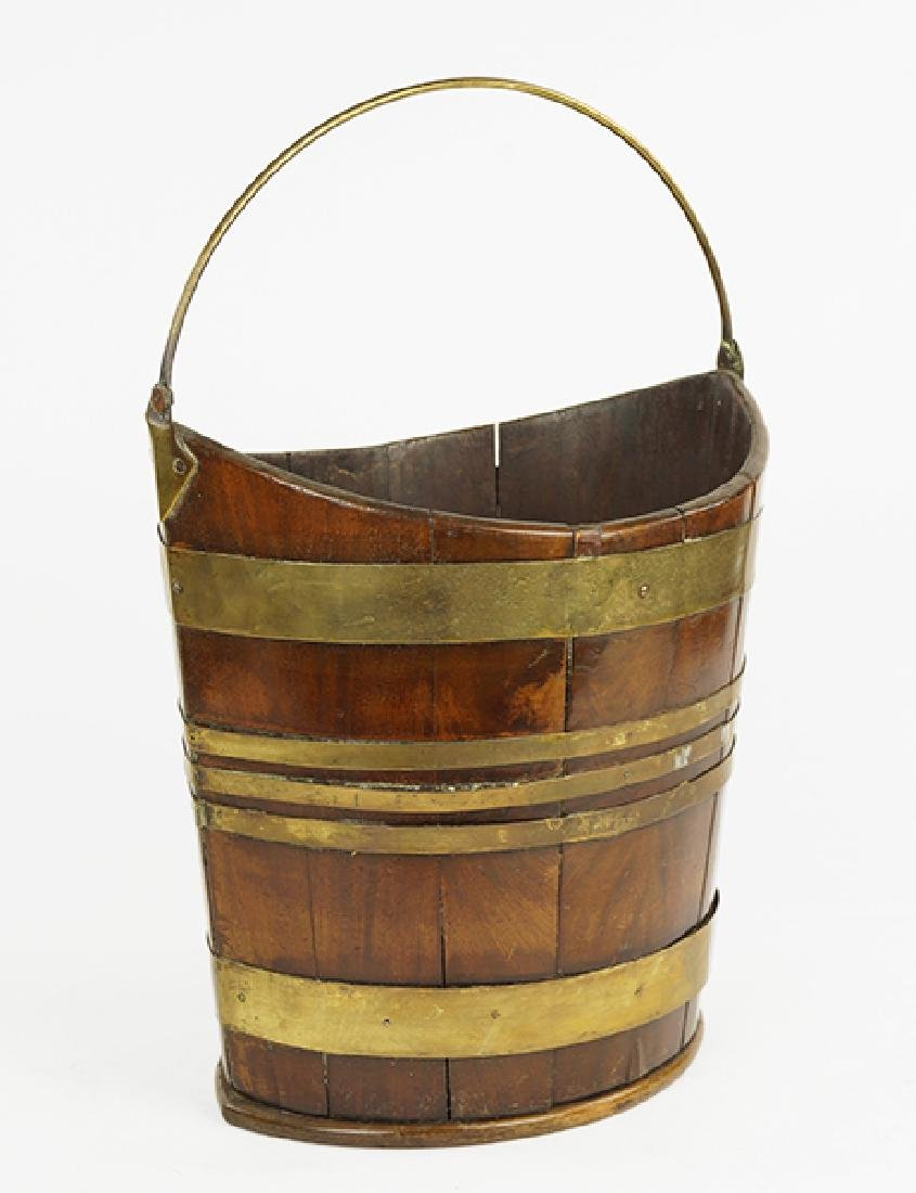 A Georgian Peat Bucket.