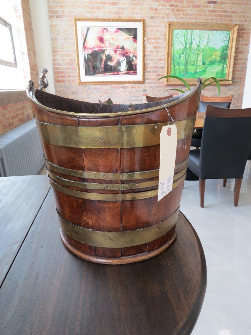 A Georgian Peat Bucket. - 2