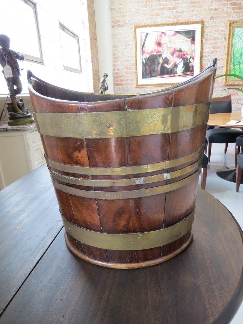 A Georgian Peat Bucket. - 4