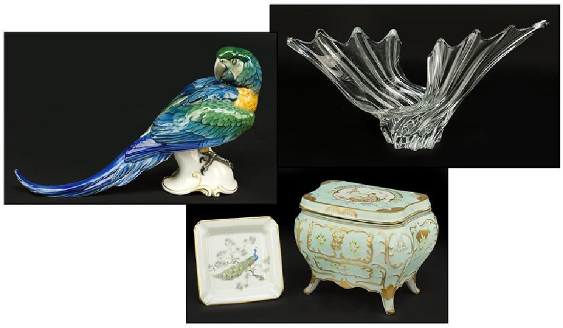 A Theodor Karner for Rosenthal Porcelain Parrot.