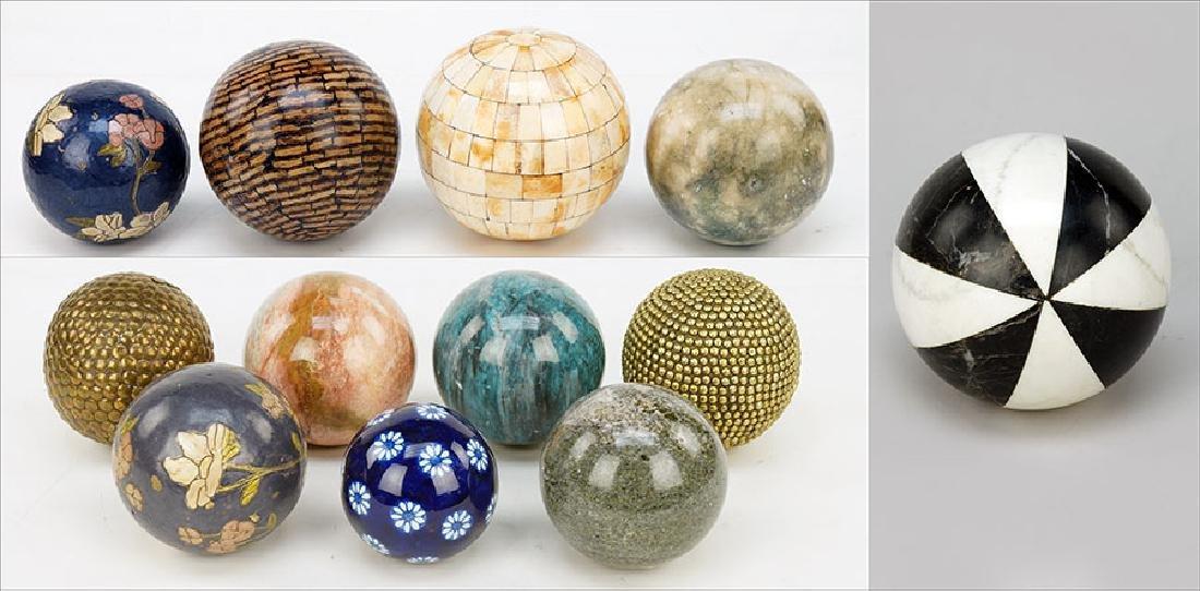 A Collection Of Carpet Balls.
