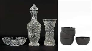 A Waterford Crystal Decanter
