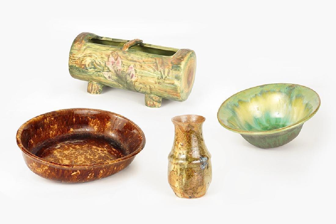 A Fulper Glazed Ceramic Bowl.