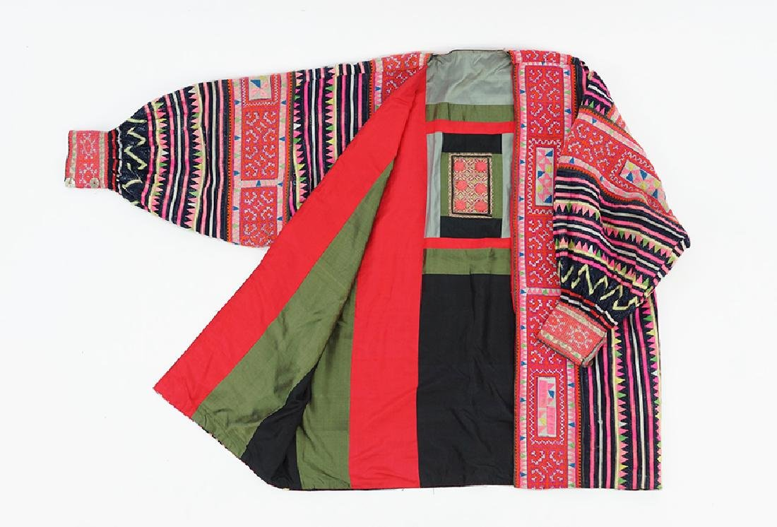 A Chinese Embroidered Jacket.