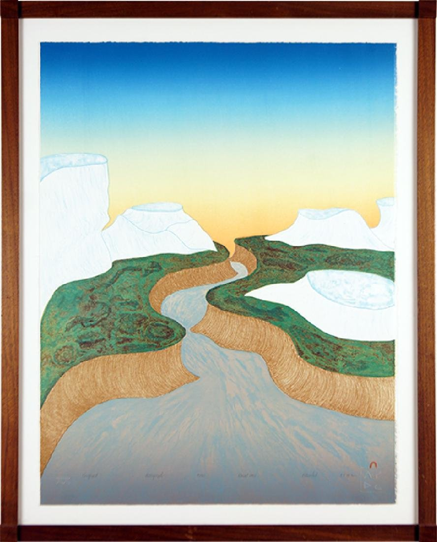 Pitseolak (Inuit, 20th Century) Kuugapik.