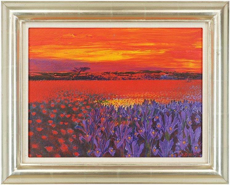 Andrea Razzaauti (Italian, B. 1954) Irish Poppy Field. - 2