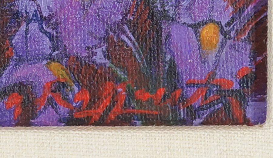 Andrea Razzaauti (Italian, B. 1954) Irish Poppy Field. - 3