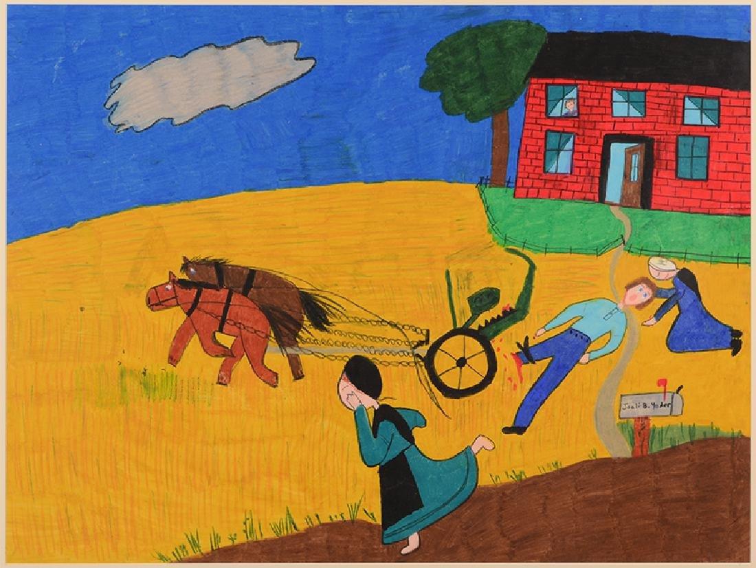 Joeli B. Yoder (American Contemporary) Farming